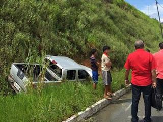 Ex-secretário de Estado da Paraíba sofre acidente enquanto viajava para o RN