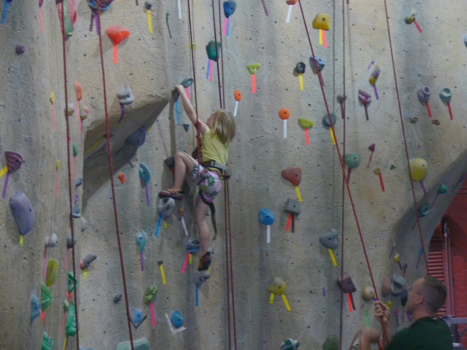 One Day at a Time: Rock Climbing and William's Big Boy Bed