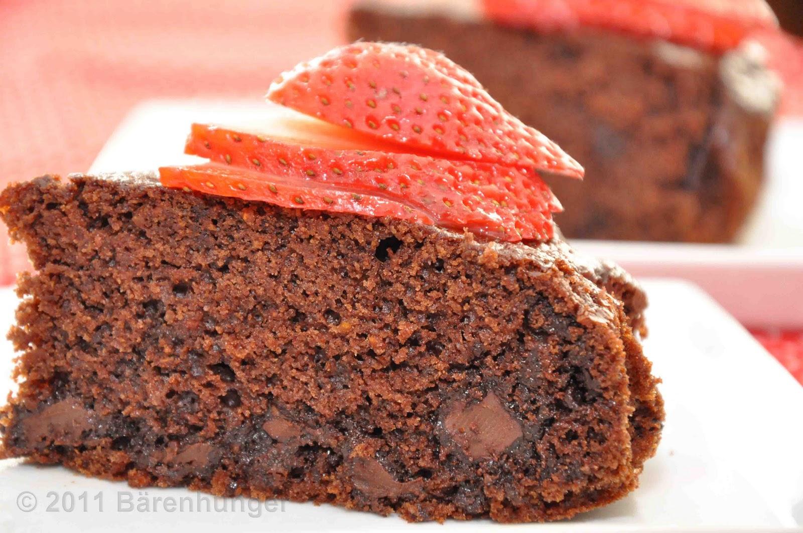 Karotten Schokoladen Kuchen Barenhunger