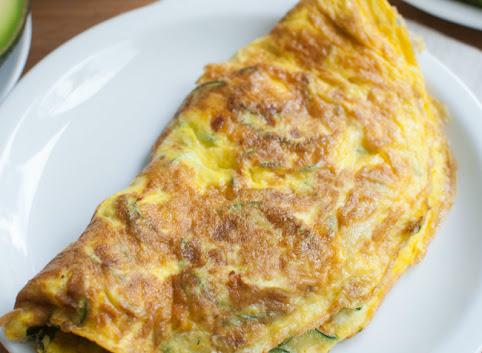 Śniadaniowo mi #19: Omlet z cukinią