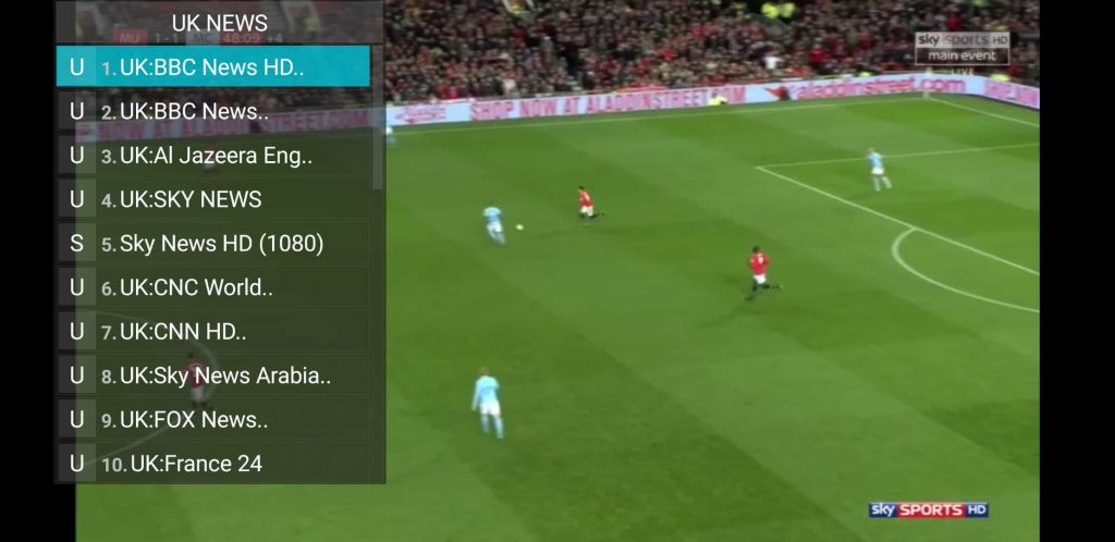 Logic IPTV App Live Streams Over 1900 Cable TV Channels to