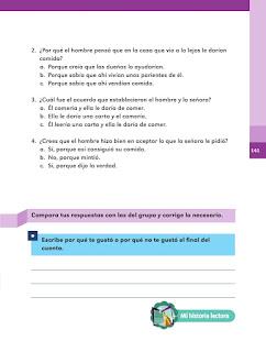 Apoyo Primaria Español 2do grado Bloque 3 lección 17 El caminante