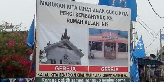 "Takut Anak Cucu Sembahyang di Gereja, Muslim Malaysia Larang Umat Kristen Gunakan Kata ""Allah"""