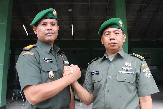 Kapten Kav Syahroni Jabat Danramil 02/Beji