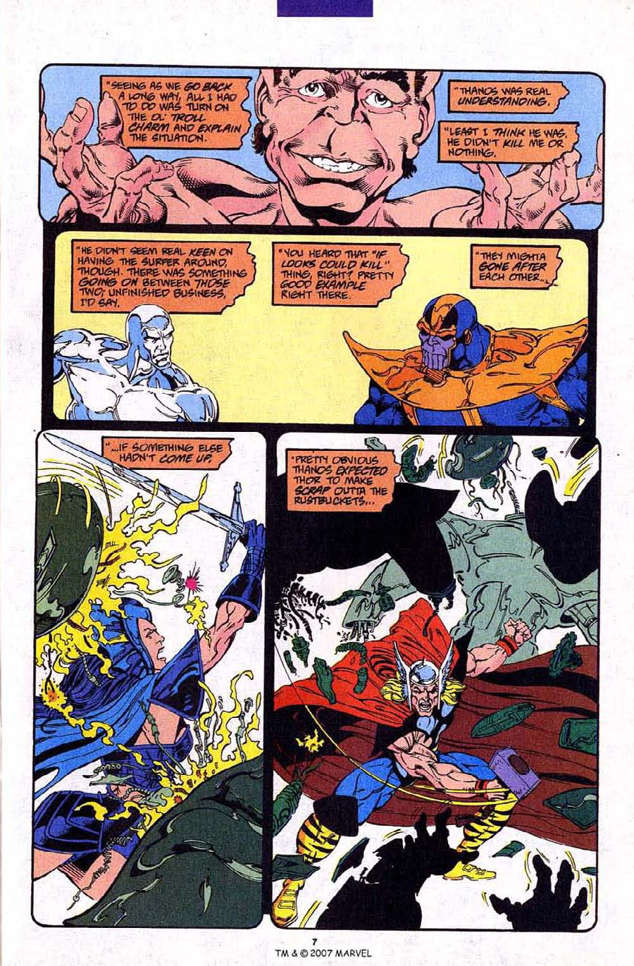 Read online Silver Surfer (1987) comic -  Issue #88 - 9