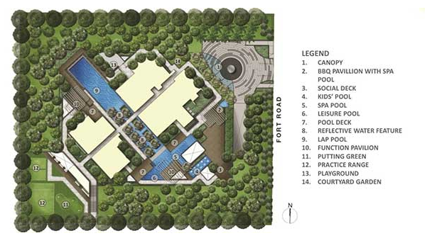 Fulcrum @ Fort Road Site Plan