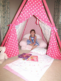 how to make fabric tent