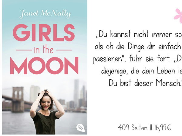 REZENSION || GIRLS IN THE MOON ~ JANET MC NALLY