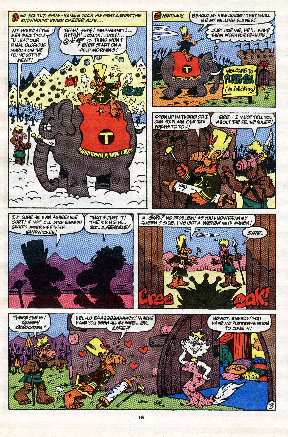 Read online ALF comic -  Issue #31 - 13