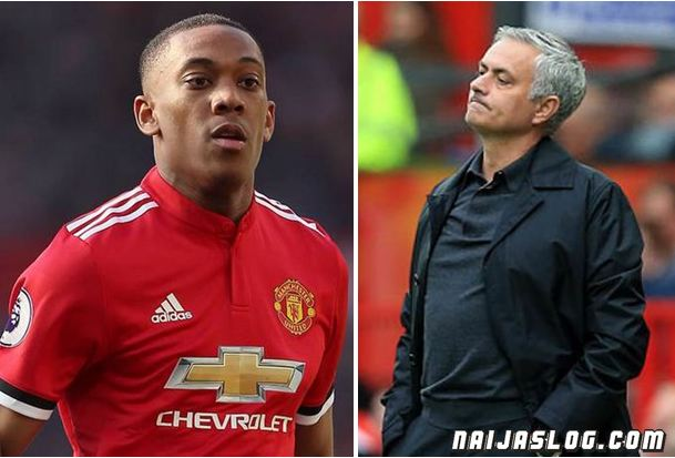 EPL: Mourinho wants Anthony Martial to extend deal with Manchester United Naijaslog