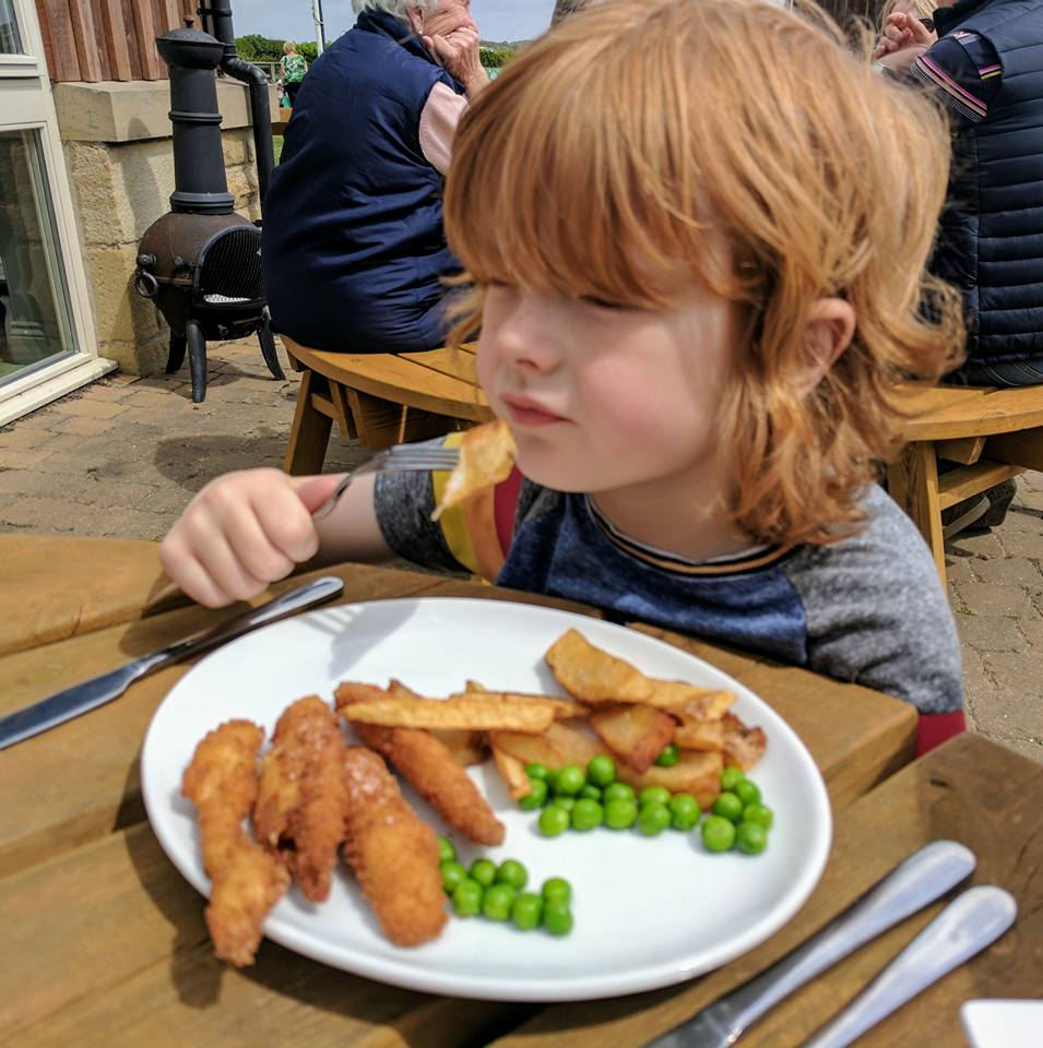 Sunnyhills Farm Shop & Cafe | A Service Station alternative near the A1, Alnwick - kids fish