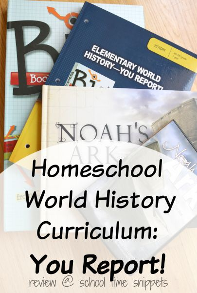 "Homeschool World History Curriculum Pack for Upper Elementary from Master Books-- put your student in charge of learning history with this unique and fun curriculum where they ""become"" a reporter of World History Events."