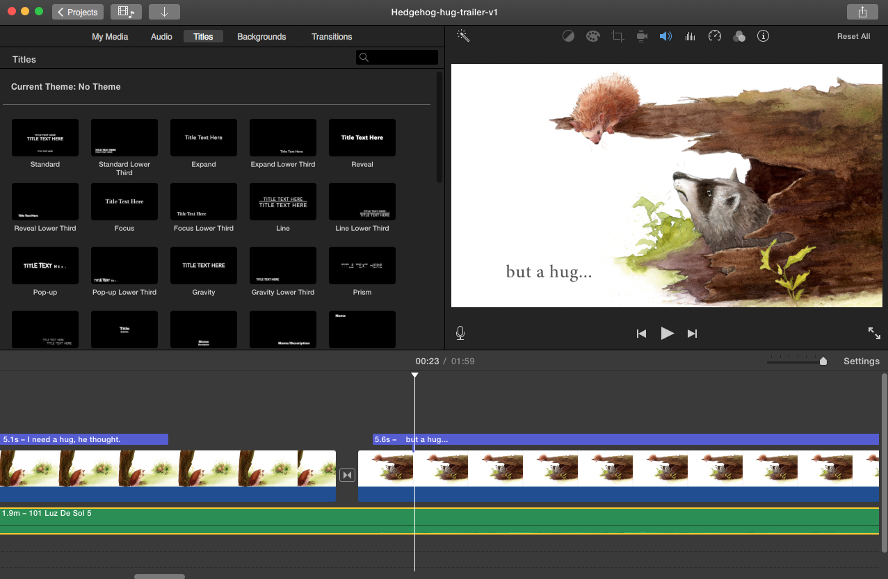 Making a Simple Book Trailer with iMovie | Jen Betton
