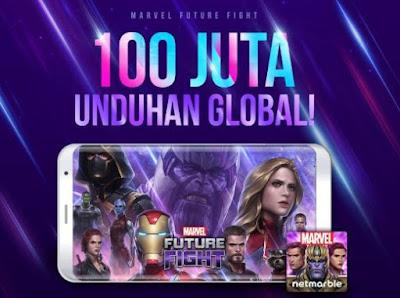 Hore Ultah Ke 4 Marvel Future Fight Berikan Banyak Hadiah Gratis Dari Event!