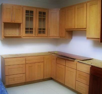 Example of inexpensive kitchen cabinets
