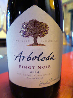 Arboleda Pinot Noir 2014 - DO Aconcagua Coast, Chile (88 pts)