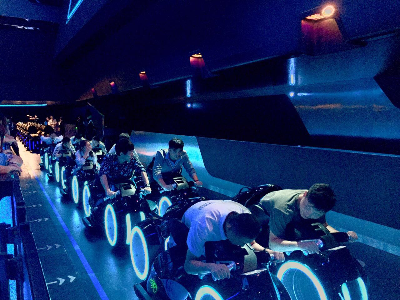 Shanghai Disneyland Tomorrowland TRON Coaster