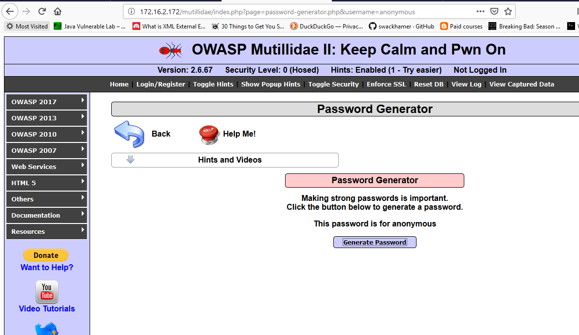 OWASP Cross Site Scripting (Reflected, Stored, DOM) - The Cybersploit