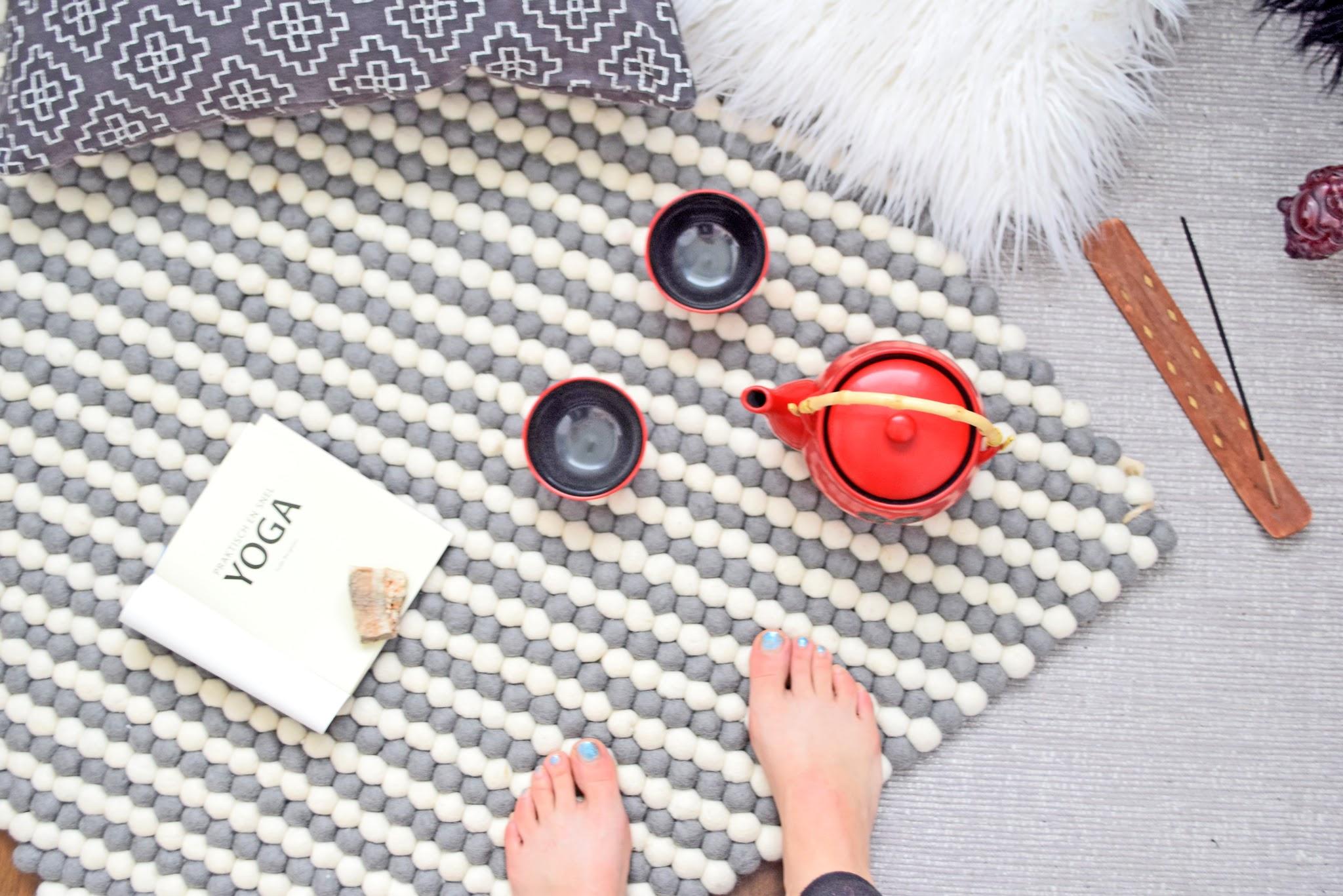 dywany bialo szary