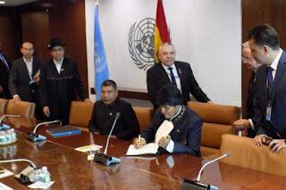 Evo Morales preside en ONU debate sobre prevención de conflictos
