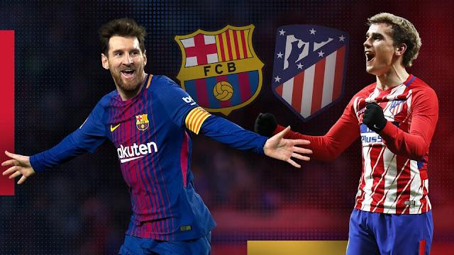 يلا شوت مشاهدة مباراة برشلونة وأتليتكو مدريد اليوم في الدوري الاسباني بث مباشر