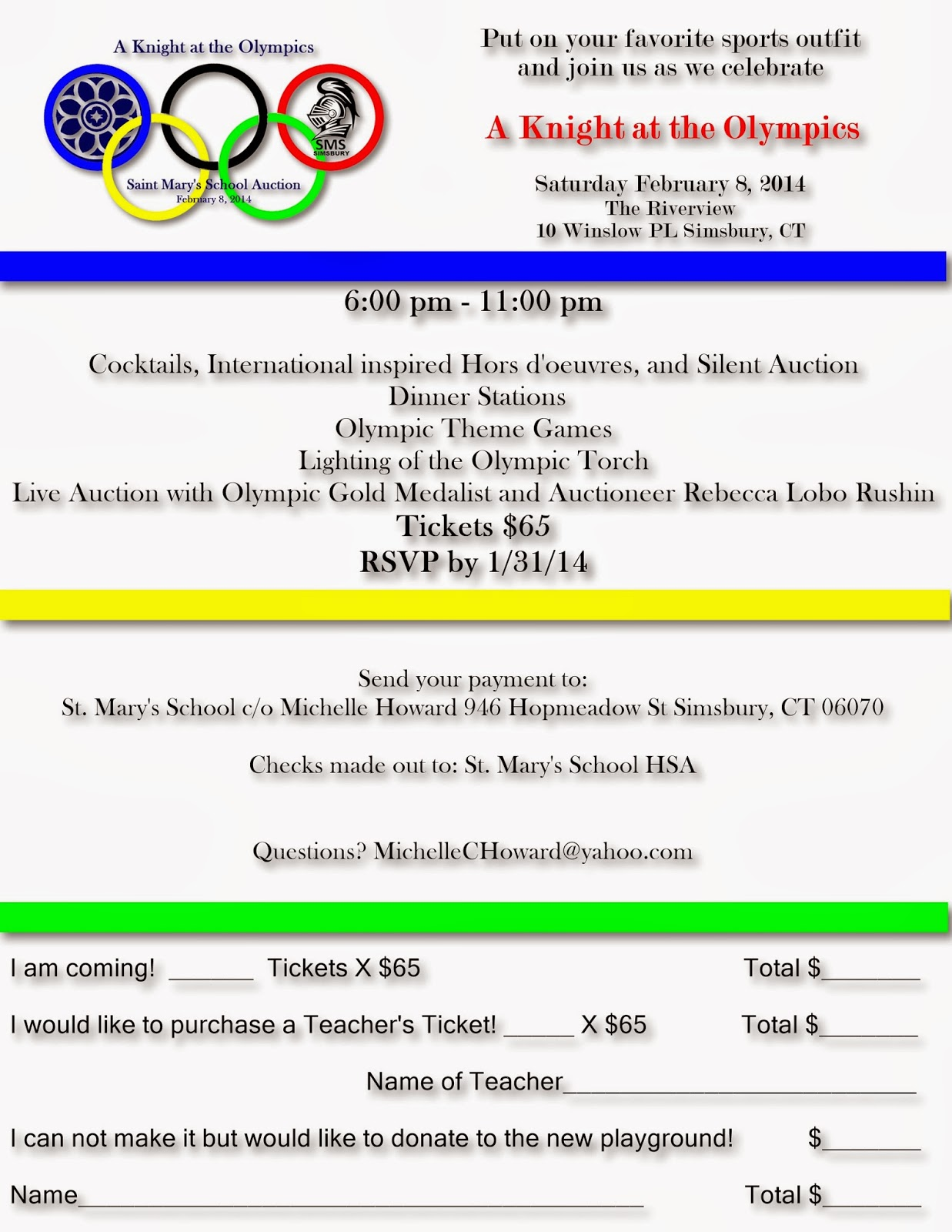 Saint Mary S School News Announcements January 2014