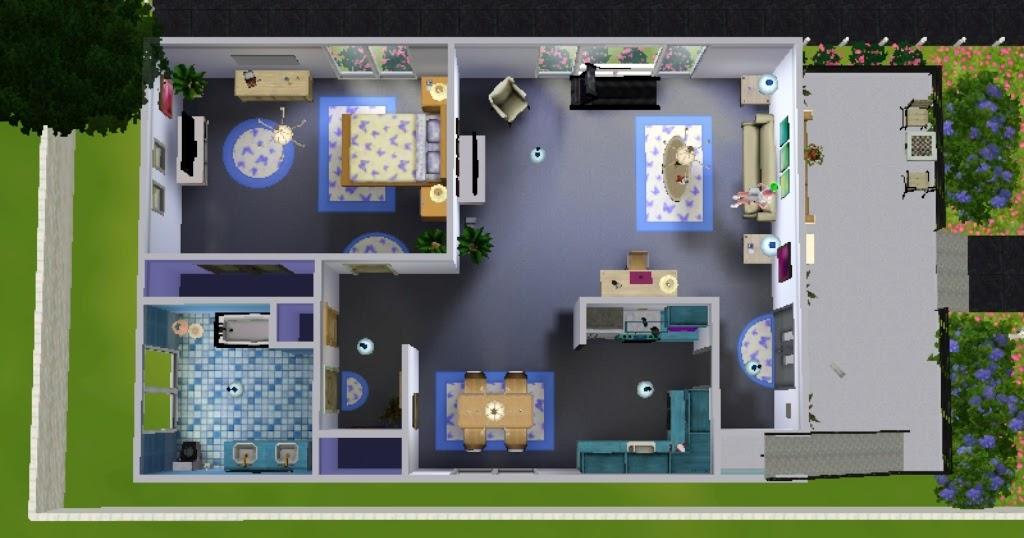 28 Desain Rumah Minimalis The Sims Freeplay