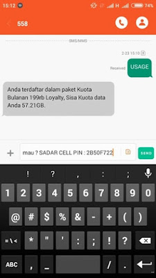 INDOSAT 57 GB + Pulsa REGULER Perdana Internet Murah