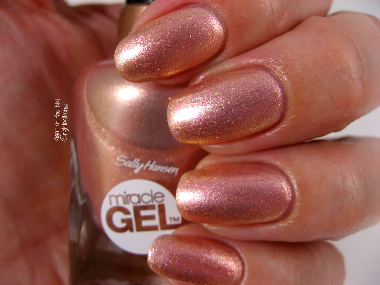 Right on the Nail: Sally Hansen Miracle Gel Travel Stories Romantic ...