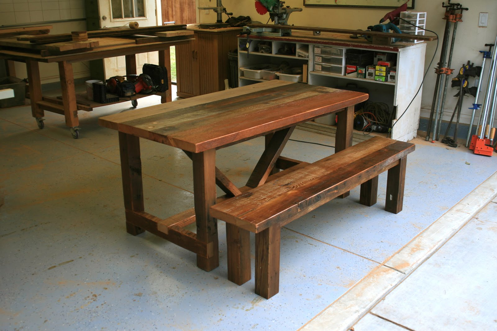 furniture restaurant table tops reclaimed douglas fir tabletops of los angeles 3