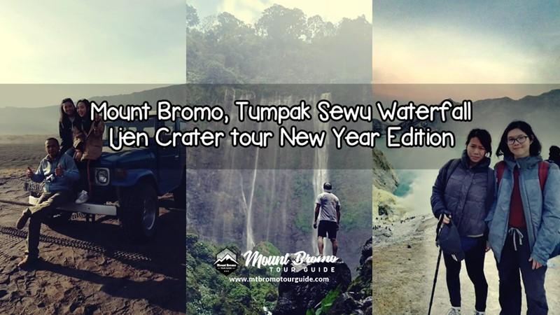 Mount Bromo, Tumpak Sewu Waterfall, Ijen Crater tour New Year Edition