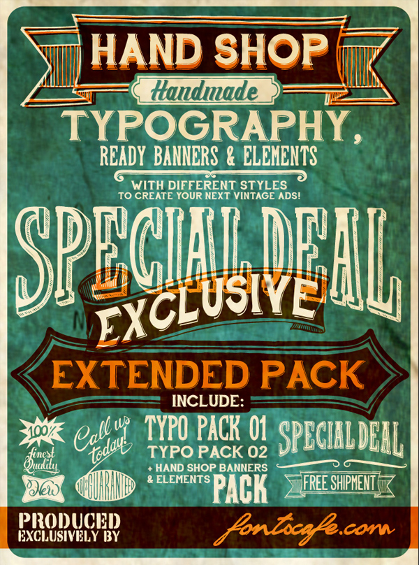 Free Retro and Vintage Fonts