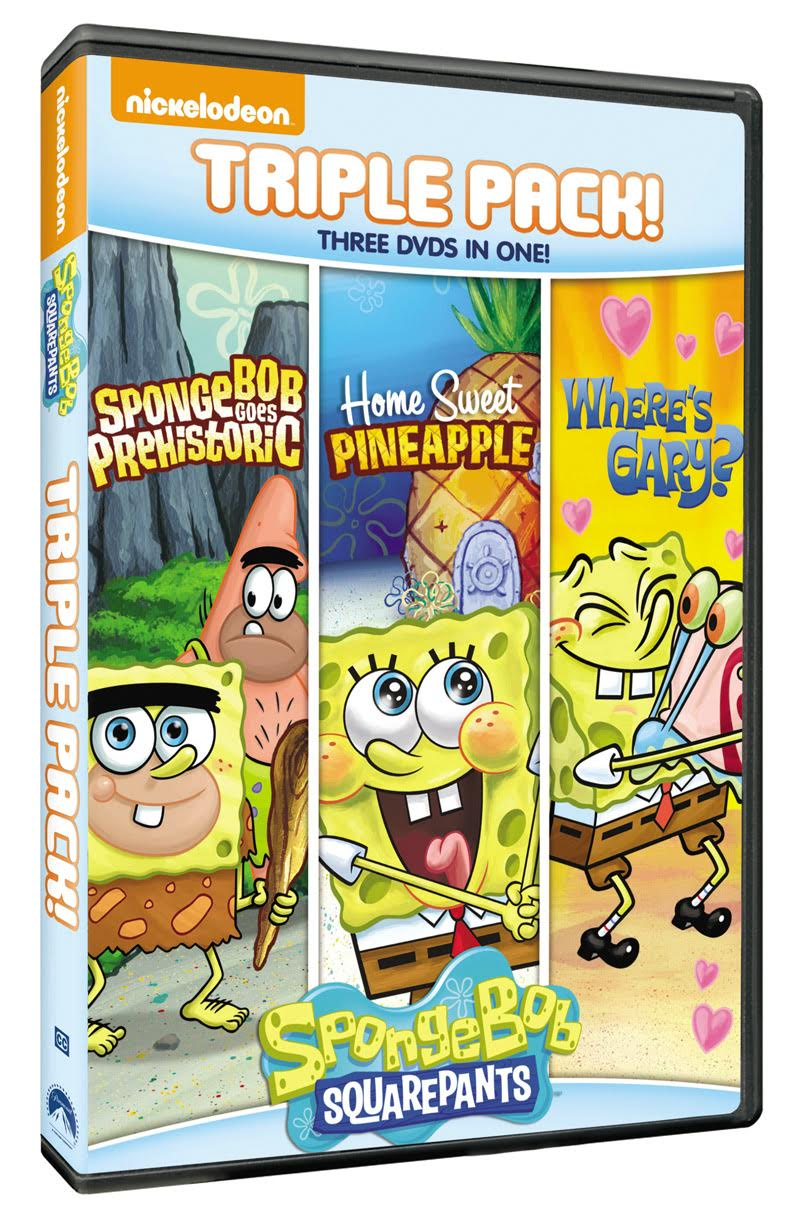 Spongebob Squarepants Triple Feature Dvd Set Review Amp Giveaway