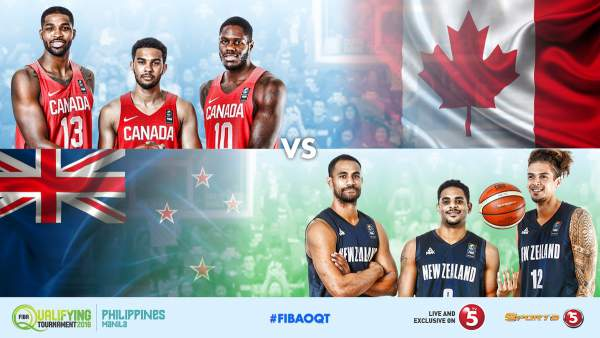 #FIBAOQT: Canada  vs. New Zealand by Sports5