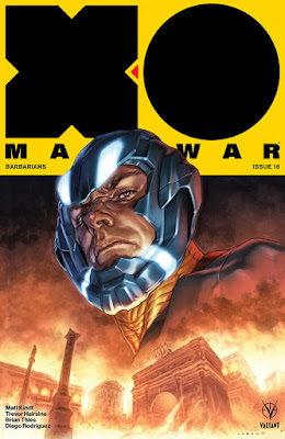 Ventas USA de cómics Valiant: agosto 2018