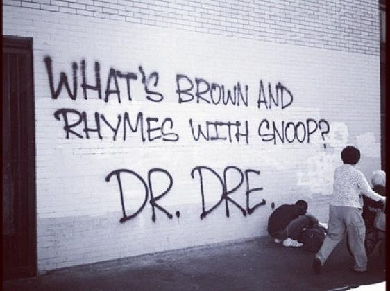 What's Brown And Rhymes WIth Snoop?