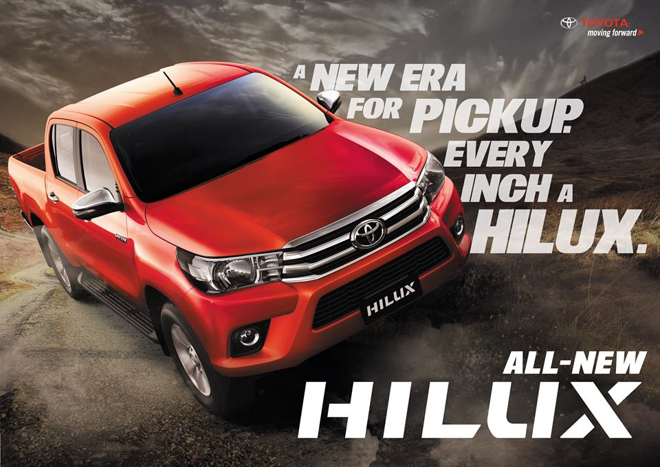All-New Toyota Hilux