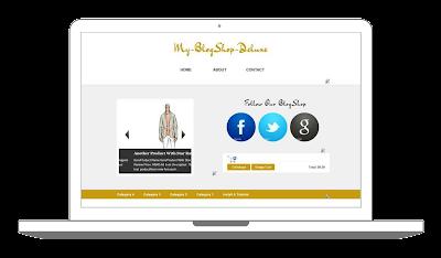 Download Blogger Shoppinc Cart Template Theme