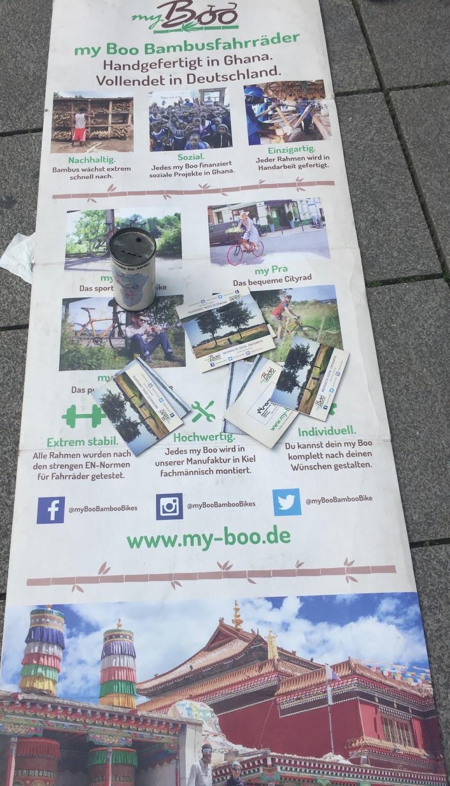 Radfahren In Stuttgart Bambus Rader Aus Ghana