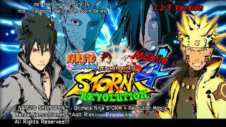 Naruto Shippuden Ultimate Ninja Storm 4 Revolution Mod Apk by Adit Narsen Mod Full