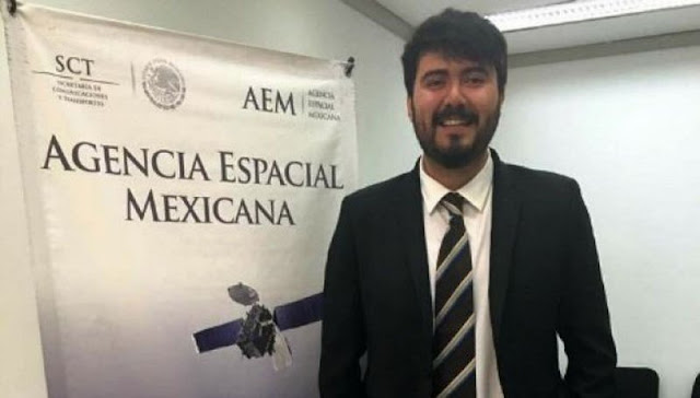 ONU elige a estudiante mexicano, Danton Bazaldua como líder espacial.