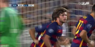 UEFA Group E : Barcelona 2 vs 1 Bayer Leverkusen 29-09-2015