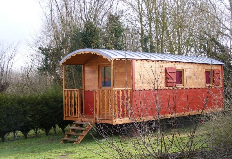 Casa di legno confortevole for Casa mobile in legno
