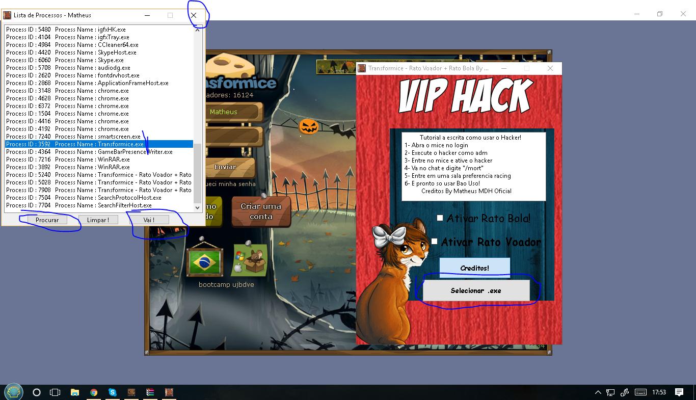 Hack vip para warface browser