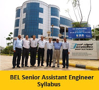 BEL Senior Assistant Engineer Syllabus