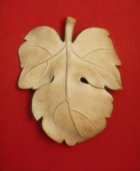 Fig Leaf for David, D. Brucciani & Co, ca. 1857. V&A Museum
