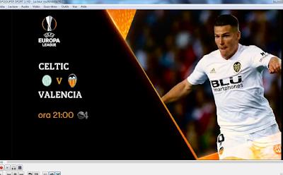 EUROPA IPTV m3u LEAGUE-CELTIC VS VALENCIA ara 21:00-14-02