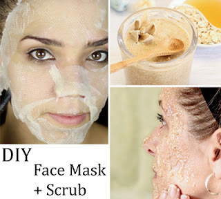 DIY - Face Scrub. Smoothest Skin Ever!