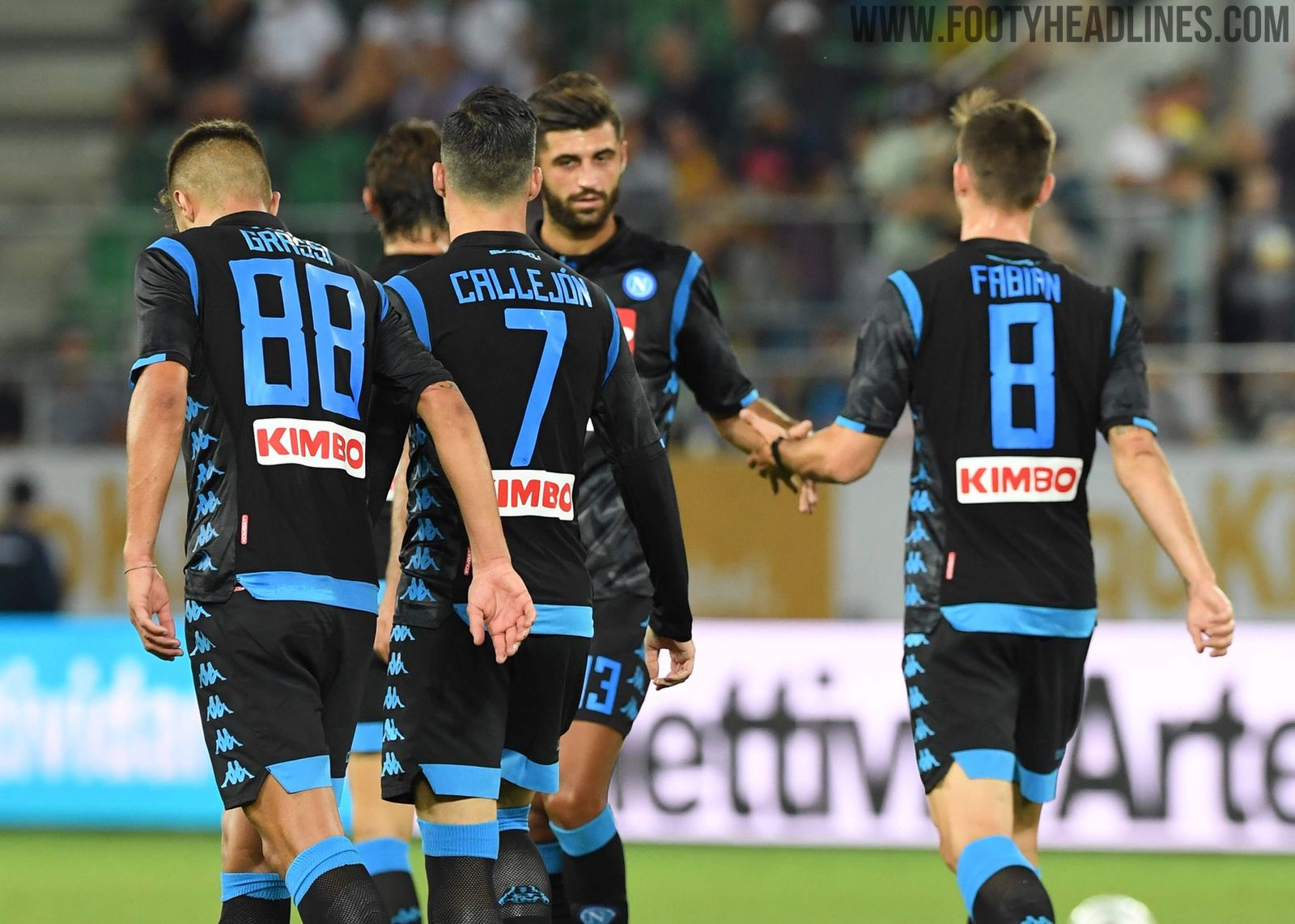 9e826678a Napoli 18-19 Away Kit Released - Footy Headlines