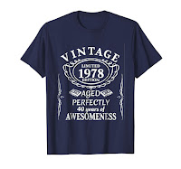Funny Birthday Gift Retro Vintage 1978 Shirt for men women